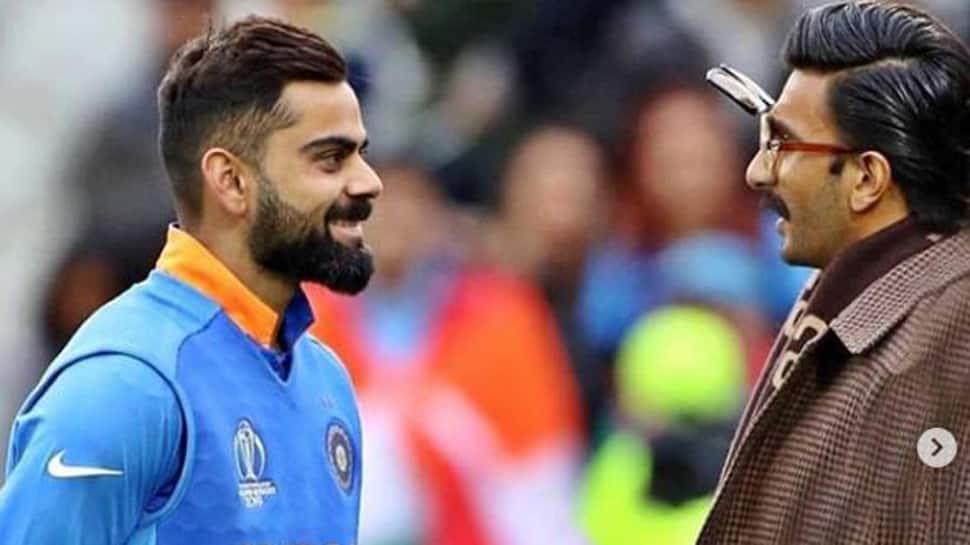 Ranveer Singh posts an endearing note for 'kaptaan' Virat Kohli, calls him 'embodiment of class'-See pics