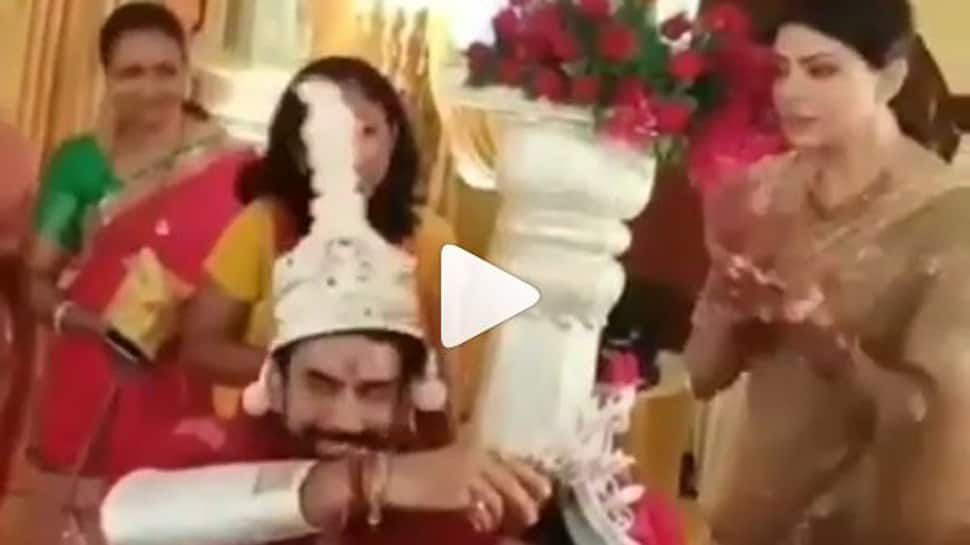 This video of Sushmita Sen from brother Rajeev Sen's wedding goes viral-Watch