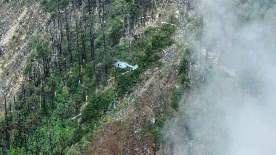 Team reaches AN-32 crash site for retrieval of bodies, in touch with IAF through satellite phones