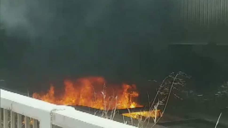 Delhi's Barapullah flyover shut after fire breaks out