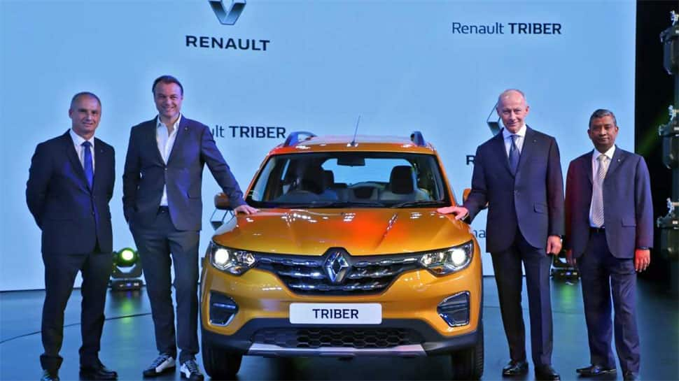 Renault Triber MPV makes global debut in India