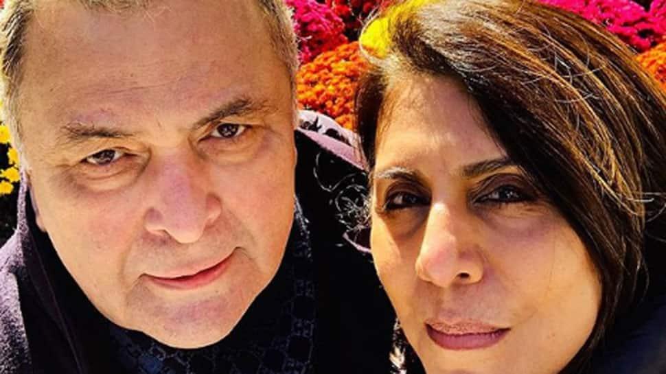 Rishi Kapoor enjoys 'famjam' moment in New York
