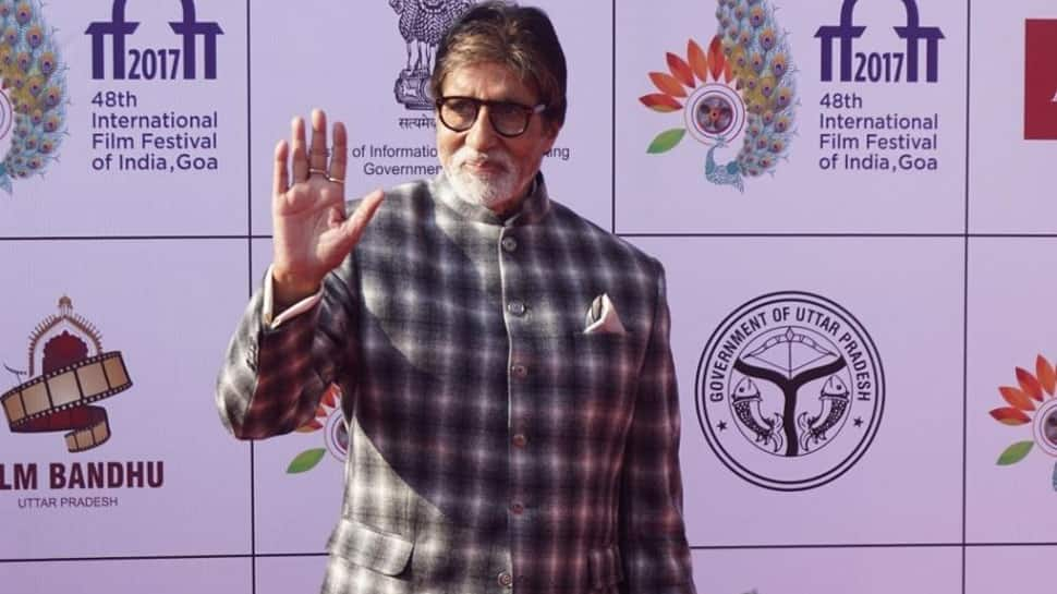 Fans in frenzy as Amitabh Bachchan shoots film in Lucknow