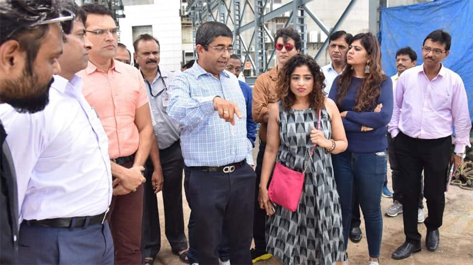 BMC invites RJ Malishka to inspect pre-monsoon work - Pics