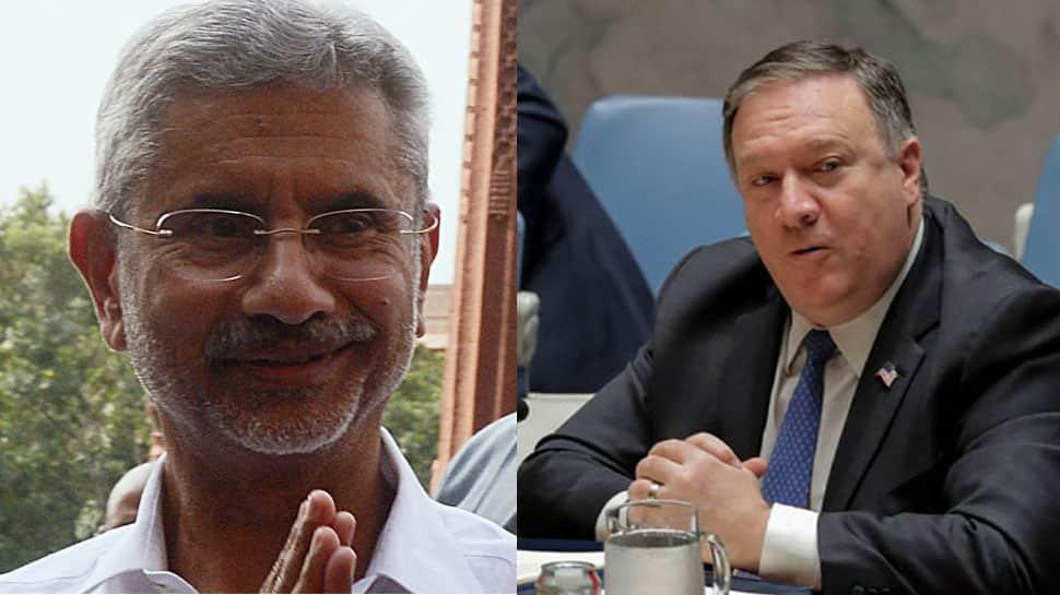 Ahead of India visit, US Secretary of State Mike Pompeo calls EAM S Jaishankar