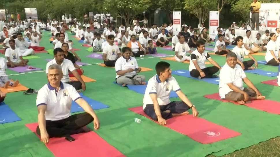 Yoga an unparalleled gift from India to world: Rajya Sabha MP Subhash Chandra