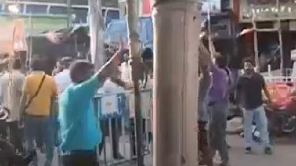 Unruly mob pelts stones at police and RAF in West Bengal's Bhatpara, many security personnel injured