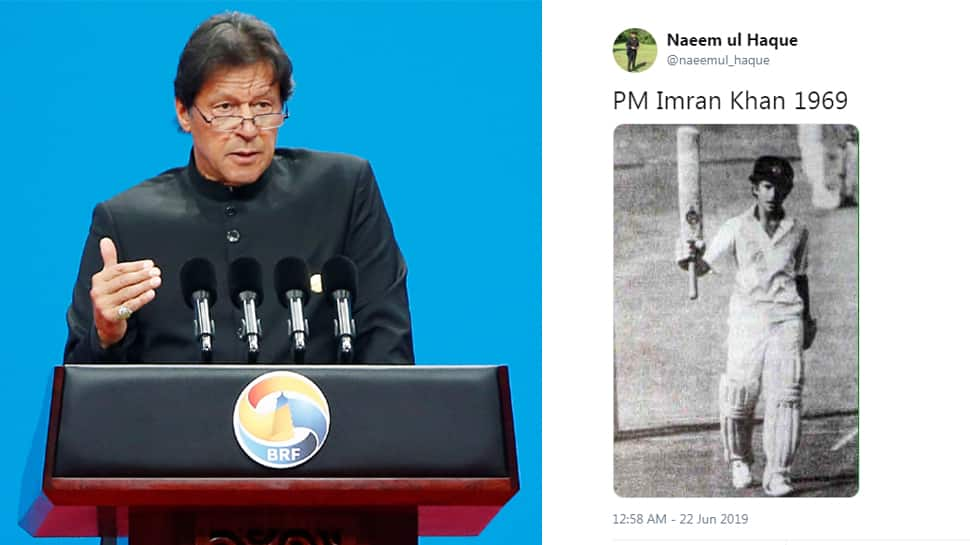 Pakistan PM's aide tweets Sachin Tendulkar's photo as that