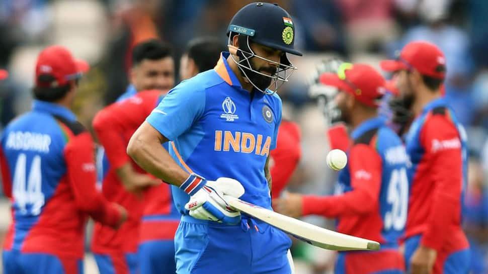 Virat Kohli fined 25% match fee for breaching ICC Code of Conduct during Afghanistan tie