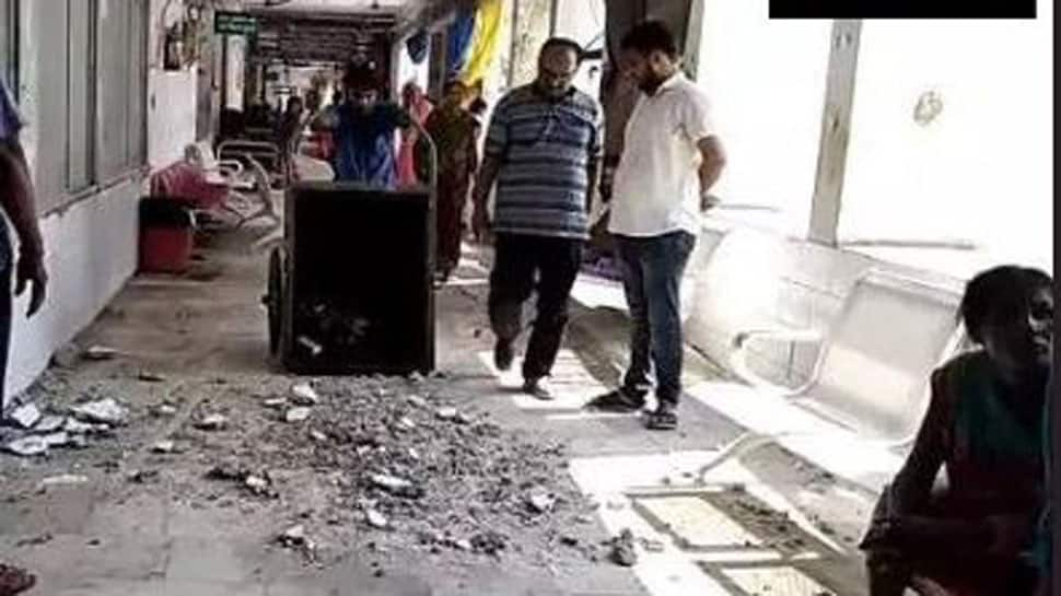 Part of roof collapses at Muzaffarpur's SKMCH hospital hit by AES deaths, no injuries reported