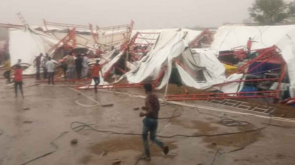 14 killed, 70 injured as 'pandaal' collapses due to storm, rain in Rajasthan