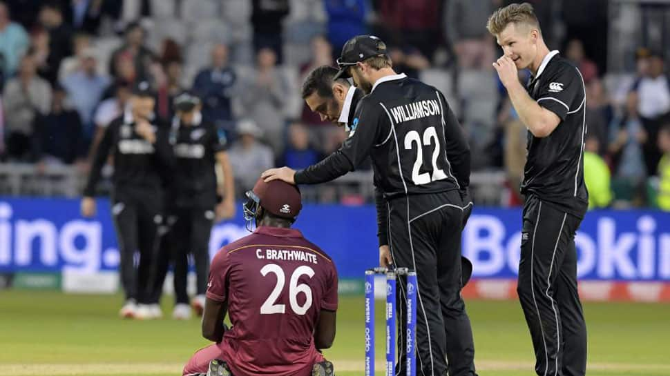 World Cup 2019: New Zealand fined for maintaining slow over-rate against West Indies