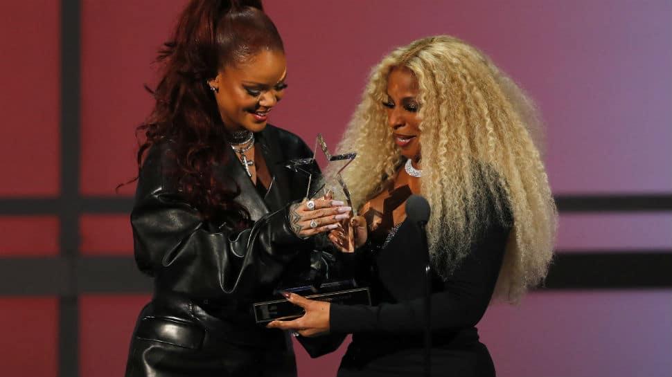 BET Awards 2019: Rihanna presents Mary J Blige with Lifetime Achievement Award