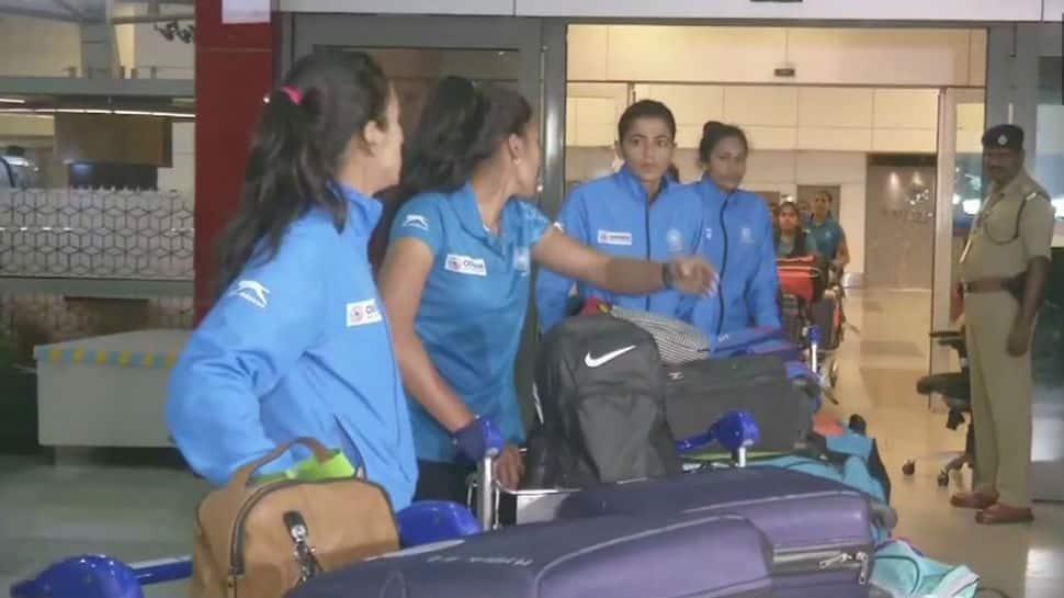 Chak De: Indian hockey team returns after winning FIH Women's Series Finals