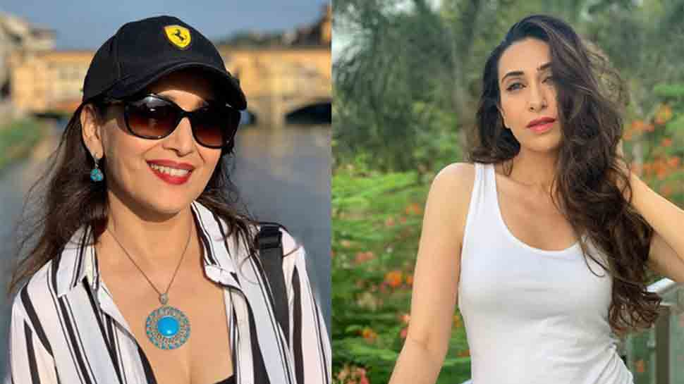 Happy birthday Karisma Kapoor: Madhuri Dixit reminisces dance-off from Dil Toh Pagal Hai