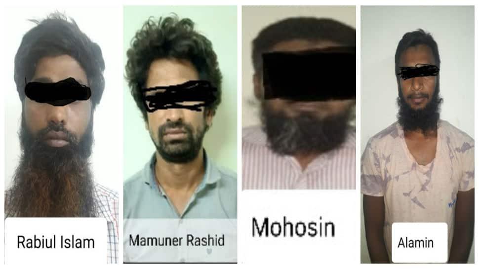 Four Neo-JMB/Islamic State operatives arrested in Kolkata