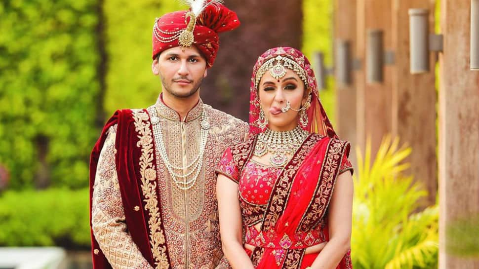Actress Aarti Chabria marries Visharad Beedassy in Mumbai - First pics here