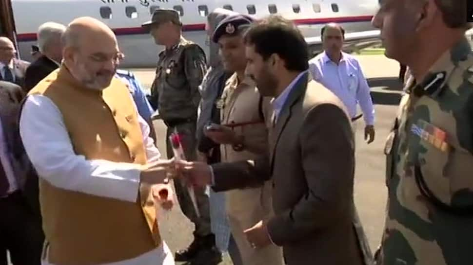 Amit Shah in Srinagar for two-day visit, to review security arrangements in J&K