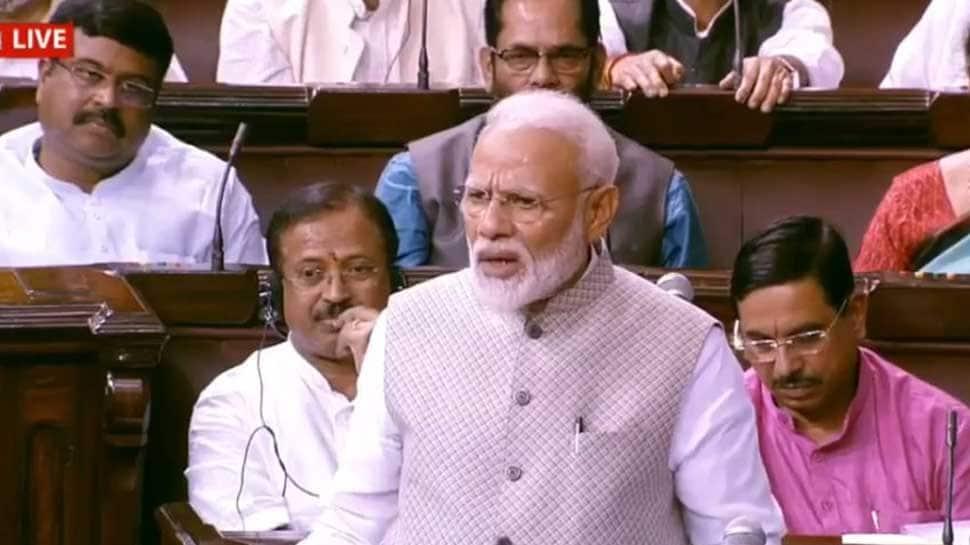 Congress never looked beyond Nehru-Gandhi family, ignored Sardar Patel, BR Ambedkar: PM Narendra Modi