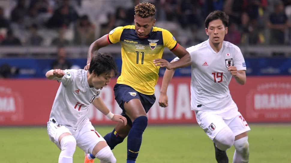 Ecuador-Japan draw gives Paraguay ticket to Copa America quarter-finals
