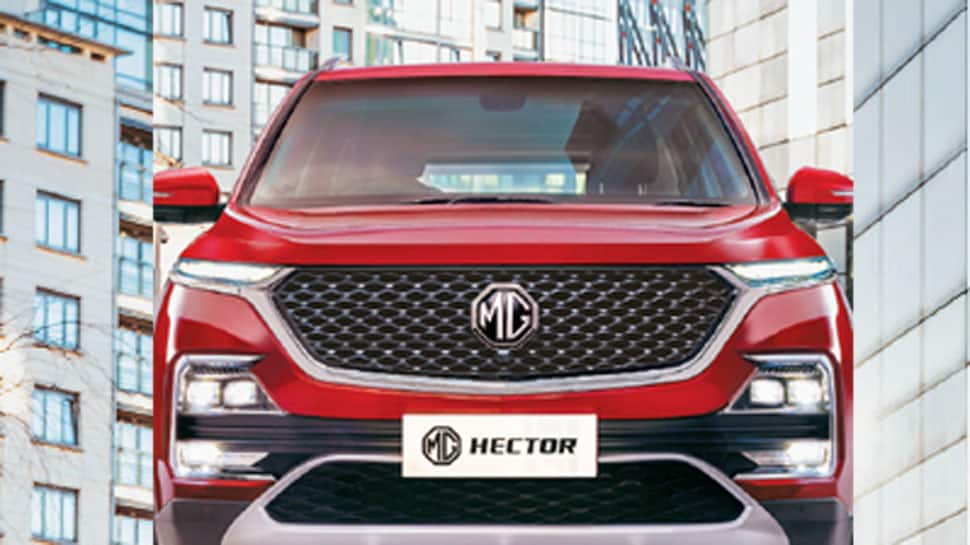 MG Hector SUV launched in India at introductory price of Rs 12.18 lakh