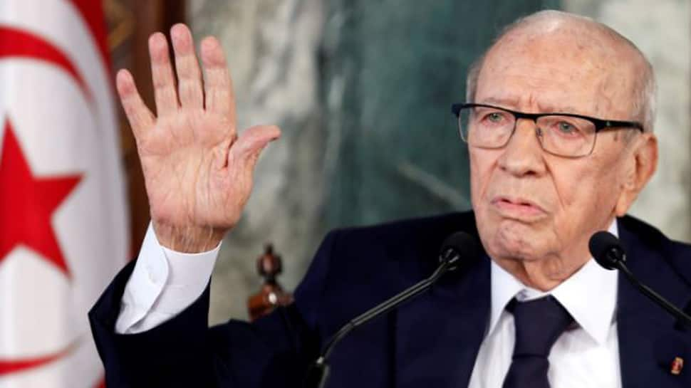 Tunisian president hospitalised 'in severe health crisis'