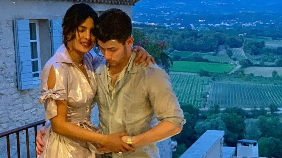 'Love is in the air' for Priyanka Chopra and Nick Jonas in France