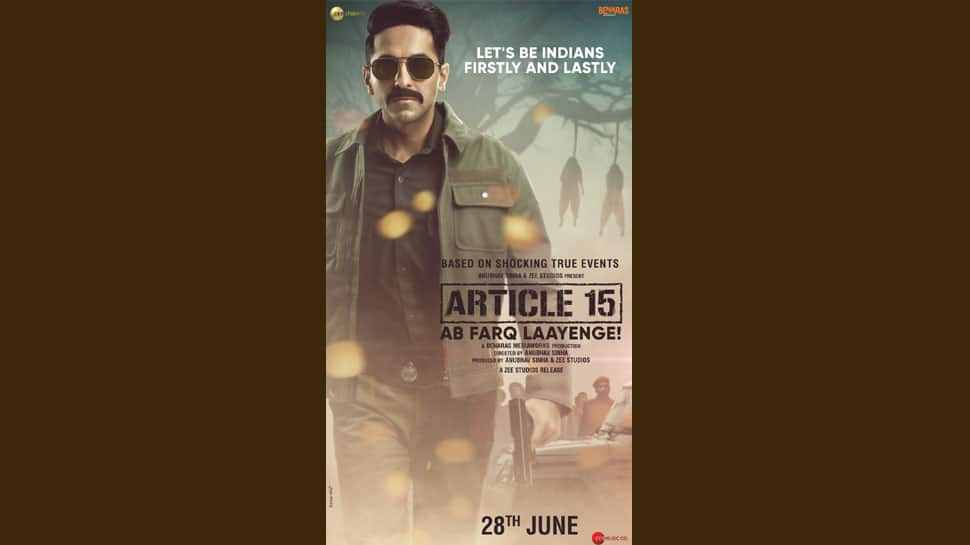 Ayushmann Khurrana's hard-hitting film Article 15 hits theatres today