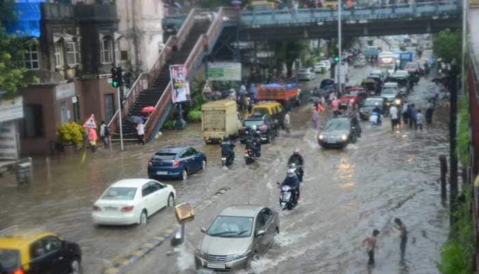 Mumbai waterlogged after heavy rains; traffic routes diverted, flights delayed