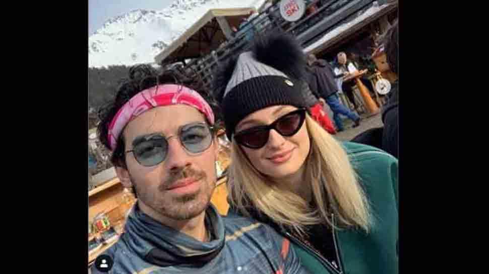 Sophie Turner, Joe Jonas host pre-wedding pool party