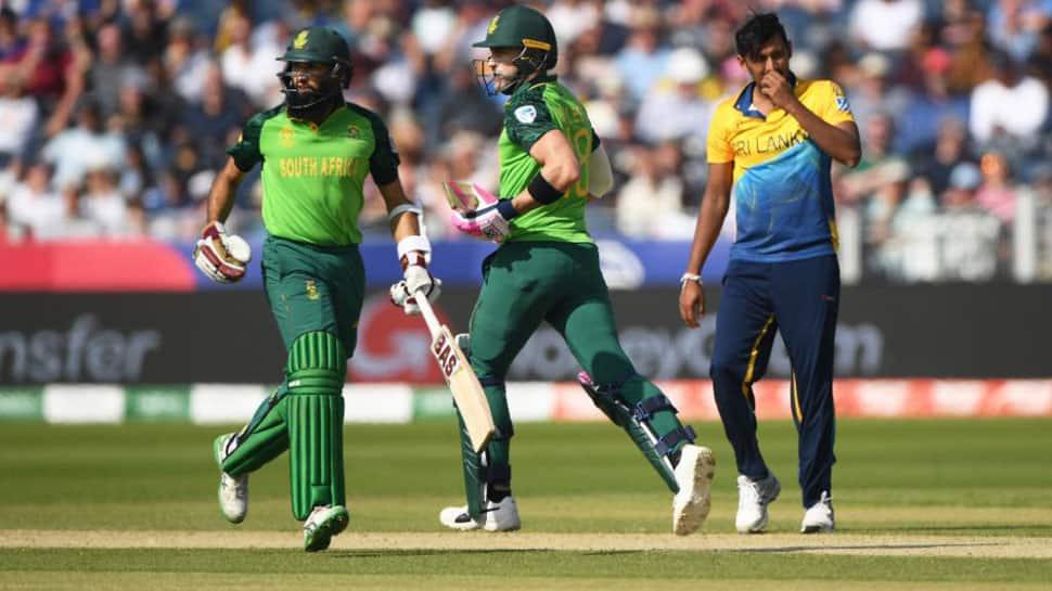 World Cup 2019: Hashim Amla, Faf du Plessis' unbeaten stand helps South Africa thrash Sri Lanka