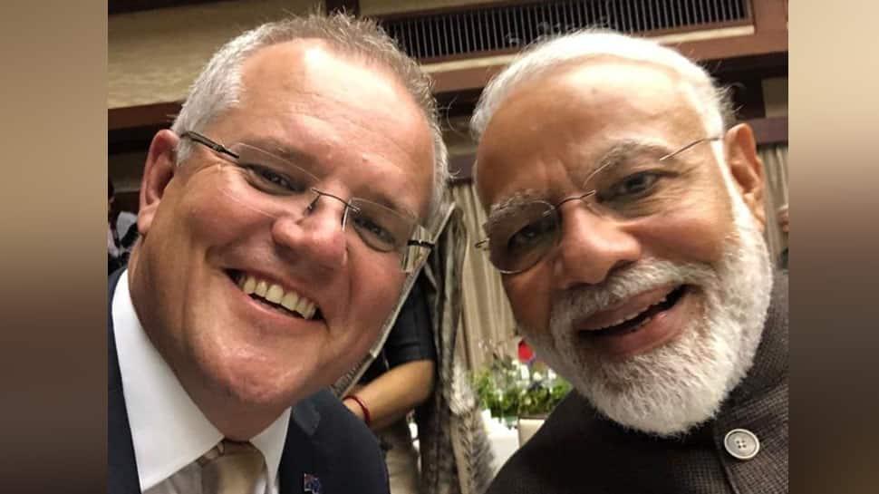 Kithana acha he Modi: Australian PM Scott Morrison tweets selfie with PM Modi at G20 Summit