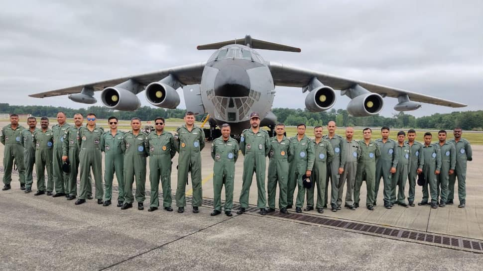 IAF contingent arrives at France's Air Force Base for Garuda exercise from July 1-12
