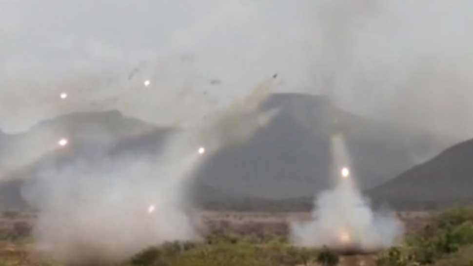 WATCH: Indian Army displays its firepower at Deolali firing range in Nashik