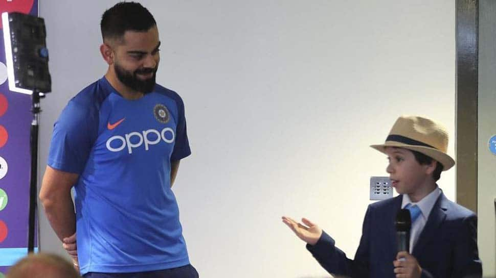 Virat Kohli's answer to a young girl during the pre-match press conference goes viral-Watch