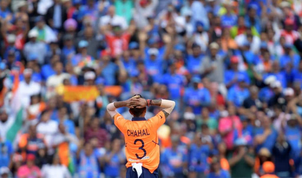 Yuzvendra Chahal records most expensive figures by an Indian bowler in World Cup history