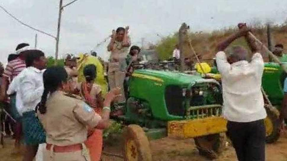 High on power: Ruling TRS men thrash lady forest officer