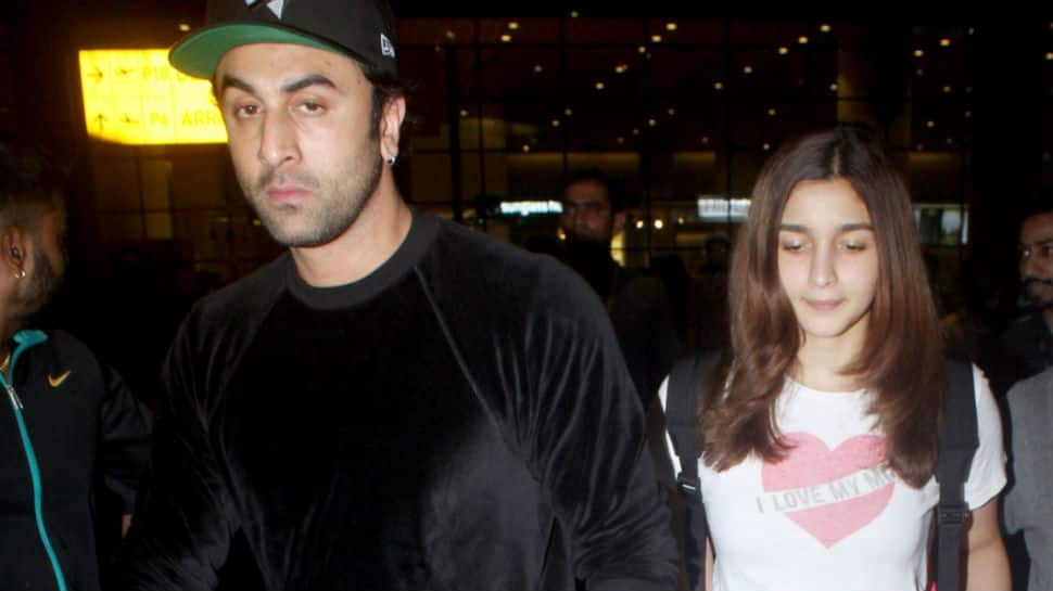Ranbir Kapoor and Alia Bhatt return to India after New York vacation - Pics