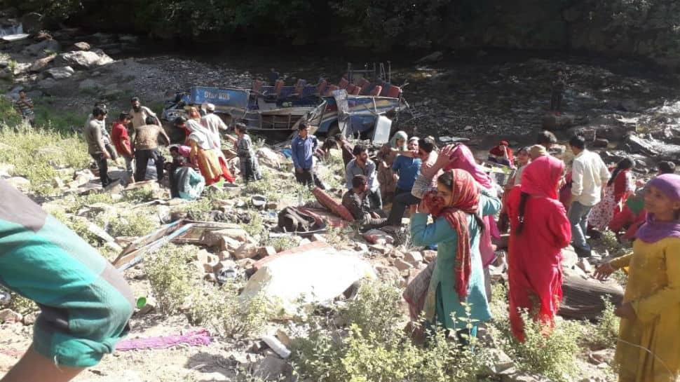 At least 34 killed after minibus falls into gorge near J&K's Kishtwar