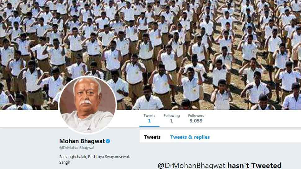 RSS chief Mohan Bhagwat, 6 other functionaries join Twitter