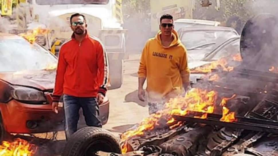 Akshay Kumar's 'Sooryavanshi' BTS action video will give you adrenaline rush—Watch
