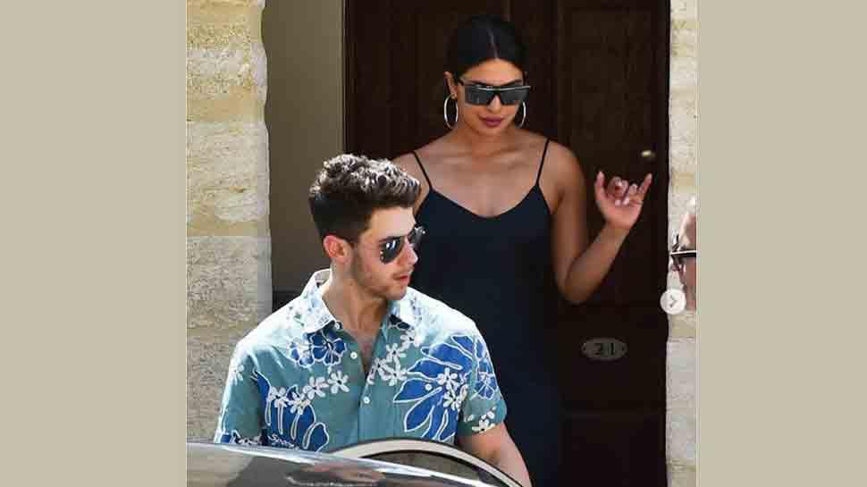 Priyanka Chopra gets emotional at Joe Jonas-Sophie Turner's wedding, caught wiping tears