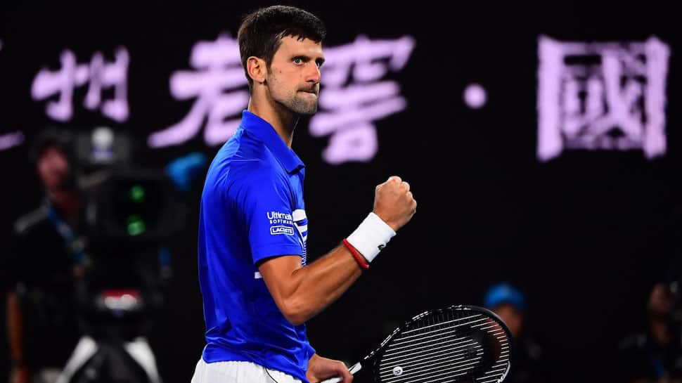 Djokovic sweeps through under keen gaze of Ivanisevic