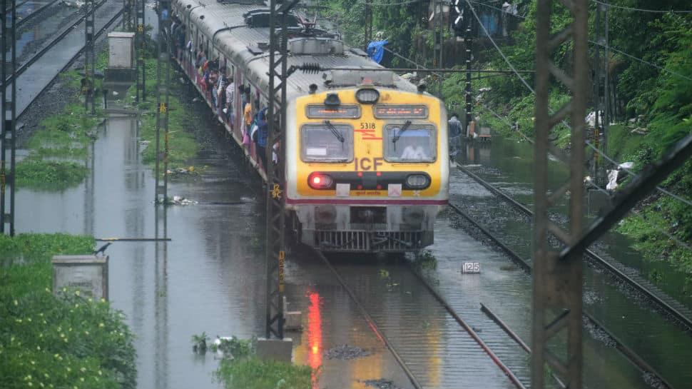 Mumbai local trains face rain fury, several trains cancelled, diverted