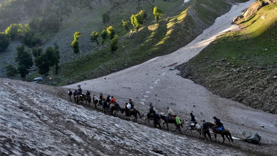 Nearly 6,000 pilgrims from Jammu head for Amarnath