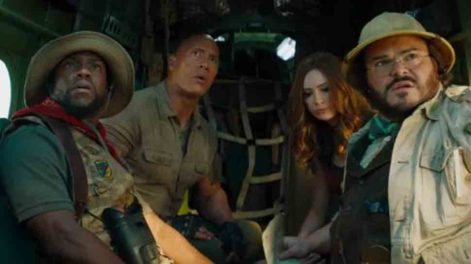 Jumanji: The Next Level teases chaotic ride to jungle