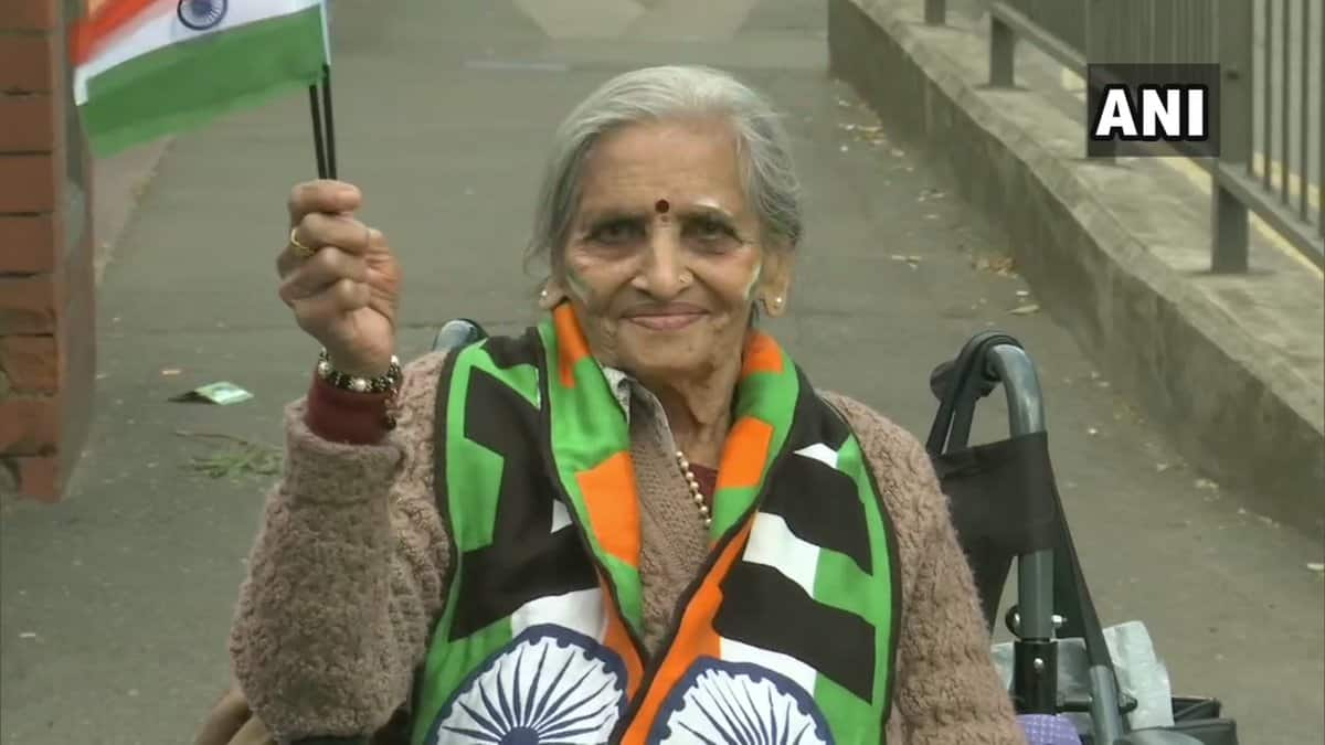 World Cup 2019: 87-year-old fan Charu Lata cheering for Team India is winning internet