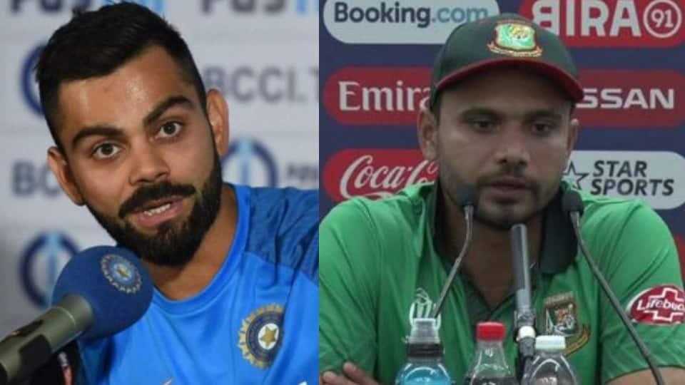 World Cup 2019: India vs Bangladesh--Statistical Highlights