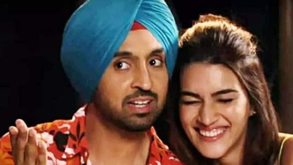 Kriti Sanon shares an adorable pic with 'Arjun Patiala' co-star Diljit Dosanjh