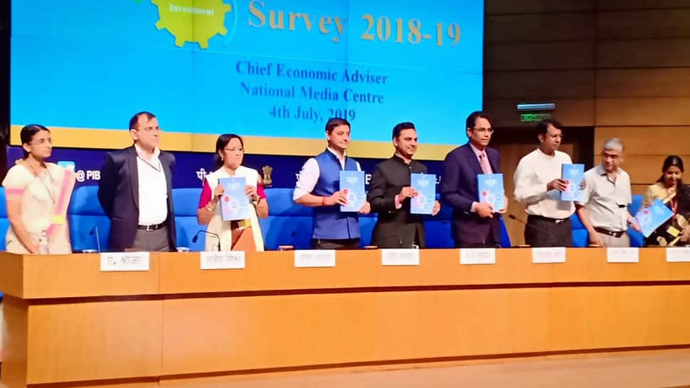 Economic Survey 2019 pegs FY20 growth at 7%, retains FY19 fiscal deficit at 3.4%